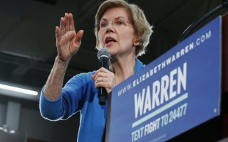 Democratic presidential candidate Sen. Elizabeth Warren, D-Mass., speaks at a campaign event Saturday, Feb. 1, 2020 in Cedar Rapids, Iowa (AP Photo/Sue Ogrocki)