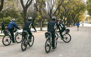Αστυνομία την εποχή του κορωνοϊού.