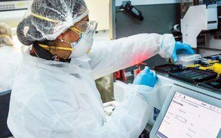 Την περασμένη εβδομάδα στο Παστέρ εξετάστηκαν σε καθημερινή βάση περί τα 400-500 δείγματα. Περίπου το 10% βρέθηκε θετικό στον ιό.