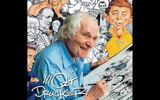 Ο τρόπος που «έστηνε» τα σκίτσα του ο Μορτ Ντράκερ έχει παρομοιαστεί με την εργασία ενός χολιγουντιανού δημιουργού.