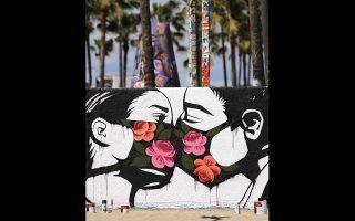 Γκράφιτι στο Λος Αντζελες διά χειρός Pony Wave.