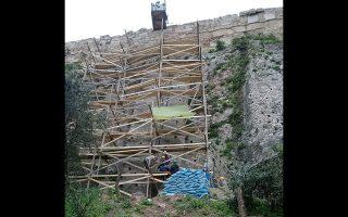 Εργα αναβάθμισης του αρχαιολογικού χώρου της Ακρόπολης.
