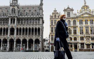 «Η εικόνα στις Βρυξέλλες είναι τα κλειστά μαγαζιά, τα έρημα αξιοθέατα, οι περιορισμένες μετακινήσεις των ανθρώπων», αναφέρει στην «Κ» ο Αλ. Μιχαηλίδης.