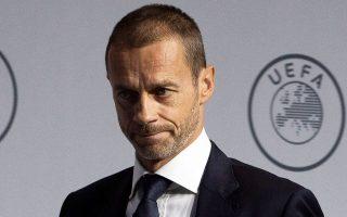 Ο πρόεδρος της UEFA Αλεξάντερ Τσέφεριν απειλεί με αποκλεισμό από ευρωπαϊκές διοργανώσεις όποια χώρα σπάει την αλληλεγγύη μεταξύ των χωρών υπέρ ολοκλήρωσης των διοργανώσεων.