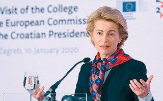 Η πρόεδρος της Ευρωπαϊκής Επιτροπής Ούρσουλα φον ντερ Λάιεν δήλωσε πεπεισμένη ότι οι υπουργοί Οικονομικών της Ευρωζώνης θα υιοθετήσουν  το πρόγραμμα στήριξης της απασχόλησης την προσεχή Τρίτη στο Eurogroup.