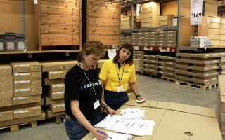Το ηλεκτρονικό κατάστημα IKEA γνωρίζει πρωτοφανή κίνηση μετά το κλείσιμο των φυσικών καταστημάτων, με τις πωλήσεις του να καταγράφουν αύξηση 82% σε σχέση με την αντίστοιχη περυσινή περίοδο.