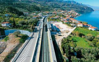 Μεταξύ των έργων είναι και η κατασκευή (επιδομή, ηλεκτροκίνηση και σηματοδότηση) της νέας διπλής σιδηροδρομικής γραμμής Αθήνας - Πάτρας.