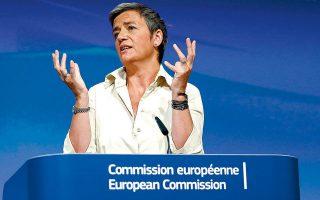 Η Μαργκρέτε Βεστάγκερ, επίτροπος Ανταγωνισμού και αντιπρόεδρος της Κομισιόν, τονίζει πως η πανδημία του κορωνοϊού έχει καταφέρει πλήγμα στις ευρωπαϊκές επιχειρήσεις, καθιστώντας τις ευάλωτους στόχους ξένων ομίλων.