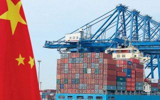 Τον Μάρτιο οι εξαγωγές της Κίνας μειώθηκαν κατά 6% σε σύγκριση με την αντίστοιχη περίοδο του περασμένου έτους. Πρόκειται για μια μείωση μικρότερη από την πτώση 17,2% το πρώτο δίμηνο του έτους.