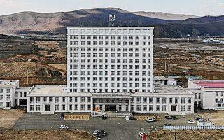 To νοσοκομείο για ασυμπτωματικούς φορείς του κορωνοϊού που δημιούργησαν οι κινεζικές αρχές στα βορειοανατολικά σύνορα της χώρας.