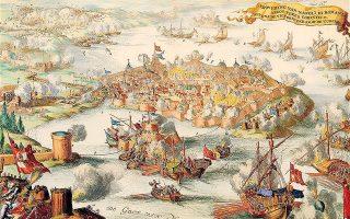 Το Ναύπλιο την περίοδο της πανούκλας, όπως απεικονίζεται σε γκραβούρα της εποχής. Η θανατηφόρος νόσος φέρεται να μεταδόθηκε από γαλλικό πλοίο που είχε ελλιμενισθεί στην περιοχή.