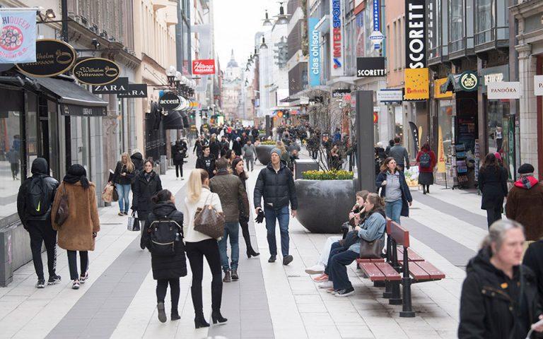 Επιμένει στη στρατηγική υψηλού ρίσκου η Σουηδία