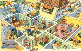 Η παραπάνω εικόνα προέρχεται από την πρώτη μου εικονογραφημένη παιδική εγκυκλοπαίδεια, την οποία μου είχε χαρίσει ο θείος μου ο Τζίμης όταν ήμουν ακόμη σε προσχολική ηλικία.
