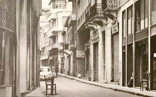 Η οδός Παλλάδος στου Ψυρρή το έτος 1977 με τον φακό της Αννας Βιχ.