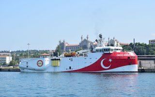 Mε NAVTEX που εκδόθηκε από την υδρογραφική υπηρεσία Αττάλειας, ανακοινώθηκαν σεισμικές έρευνες από το «Ορούτς Ρέις» (φωτ.) σε θαλάσσια περιοχή που βρίσκεται εντός της κυπριακής υφαλοκρηπίδας, έως και τις 10 Ιουνίου. SHUTTERSTOCK