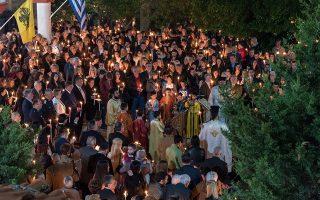 Η Εκκλησία της Ελλάδος αποφάσισε να εορτασθεί η Ανάσταση με πανηγυρική παννυχίδα, κατά το μεσονύκτιο μεταξύ Τρίτης 26ης προς Τετάρτη 27η Μαΐου. SHUTTERSTOCK