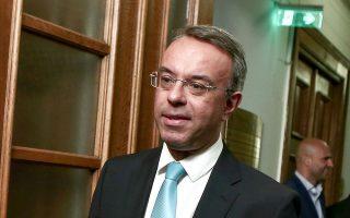 Ο υπουργός Οικονομικών Χρήστος Σταϊκούρας  προτιμά να επικαλείται τις ευρωπαϊκές προβλέψεις της Κομισιόν για ύφεση στην Ελλάδα.