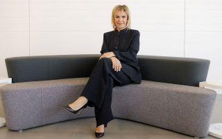 Η κ. Ιουλία Τσέτη υπογραμμίζει πως ο όμιλος ΟΦΕΤ σχεδιάζει να εκσυγχρονίσει τη μονάδα της InterΜed, ώστε να αυξηθεί η δυνατότητα παραγωγής αντισηπτικών προϊόντων.