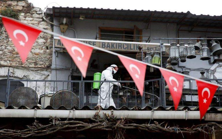 Ξεπέρασαν τις 100.000 τα κρούσματα του κορωνοϊού στην Τουρκία