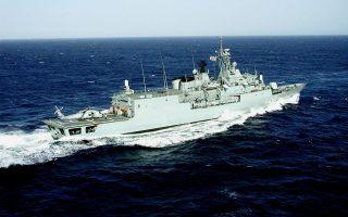 Η φρεγάτα «Υδρα» απέπλευσε την Τρίτη 12 Μαΐου από τον ναύσταθμο Σαλαμίνας. Πρόκειται να παραμείνει για σύντομο χρονικό διάστημα στον ναύσταθμο Κρήτης για προετοιμασία στο Κέντρο Εκπαίδευσης Ναυτικής Αποτροπής (ΚΕΝΑΠ) και στο τέλος Μαΐου 2020 θα ενταχθεί στην επιχείρηση «Ειρήνη».
