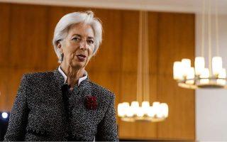 Η Κριστίν Λαγκάρντ τόνισε ότι η Ευρωπαϊκή Κεντρική Τράπεζα είναι ένας ανεξάρτητος οργανισμός.
