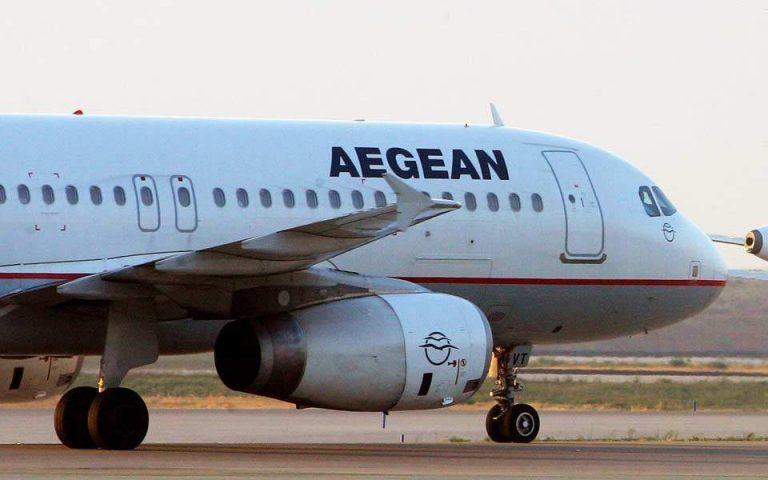 Ζημίες 110 εκατ. για την Aegean το πρώτο τρίμηνο