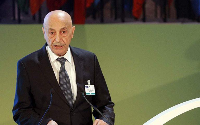 Επικοινωνία Δένδια με τον Πρόεδρο του Κοινοβουλίου της Λιβύης