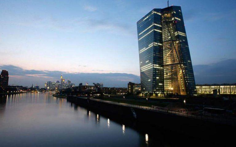 ΕΚΤ: Η οικονομία της Ευρωζώνης δεν θα επανέλθει πριν από το 2021