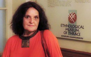 Η Αγγελική Γιαννακίδου, που ίδρυσε το ΕΜΘ.