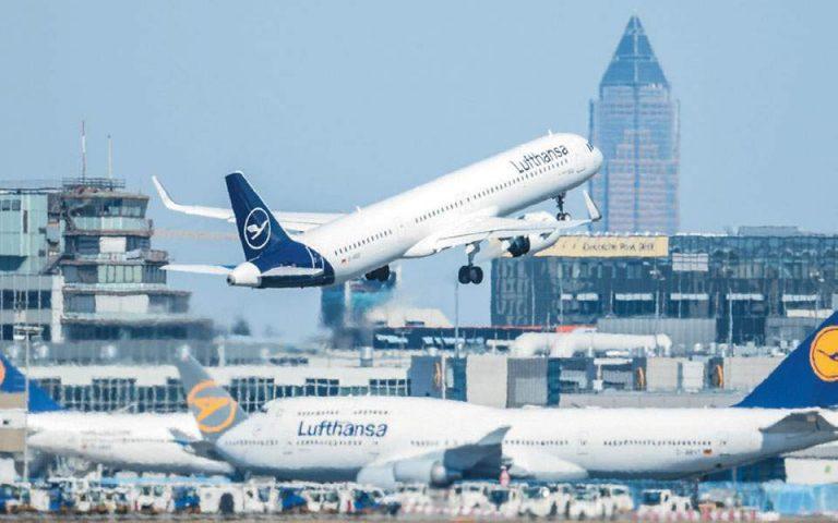 Κρατική στήριξη 9 δισ. ευρώ θα λάβει η γερμανική Lufthansa
