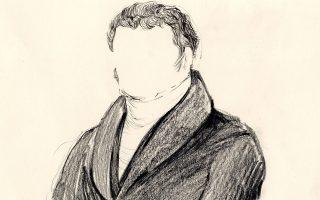 Ο «Αγνωστος βουλευτής», έργο της Ολγας Ευαγγελίδου που εικονογραφεί τον ιστότοπο representatives1821.gr.