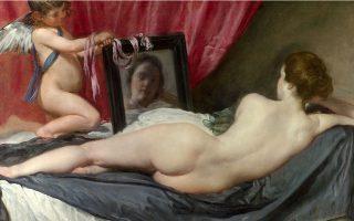 Diego Velazquez, «Η Αφροδίτη μπροστά στον καθρέφτη» (1647-1651).