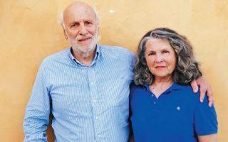 Ο Κώστας και η Λυδία Καρρά, ιδρυτές της ΕΛΛΕΤ.