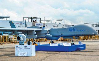 Προ ολίγων ημερών οριστικοποιήθηκε η τριετής εκμίσθωση δύο ισραηλινών UAV Heron Mk-2 (φωτ.) με δυνατότητα αγοράς τους στο τέλος της περιόδου. SHUTTERSTOCK