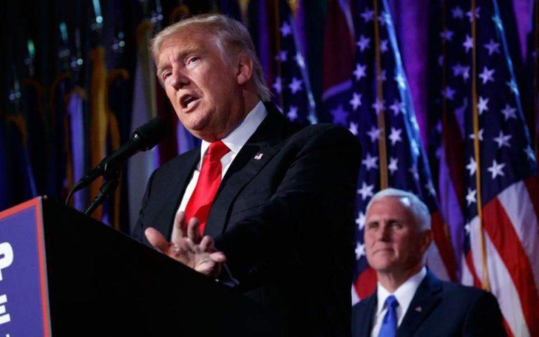 Αρνητικοί βρέθηκαν Τραμπ – Πενς στο τεστ κορωνοϊού