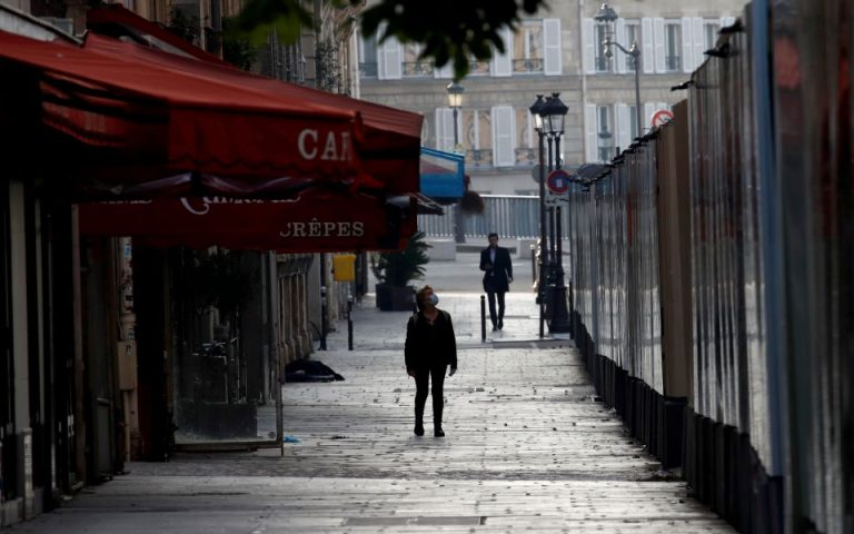 Γαλλία: H χαμηλότερη ημερήσια αύξηση κρουσμάτων κορωνοϊού από τις 17 Μαρτίου