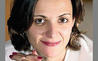 Η εκδότρια Αννη Ραγιά, του οίκου Μέλισσα.