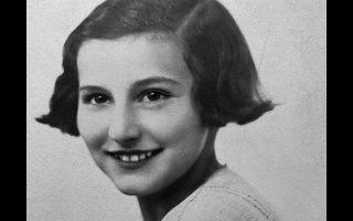 Πορτρέτο της Κ. Κυριακοπούλου σε ηλικία 13 ετών.