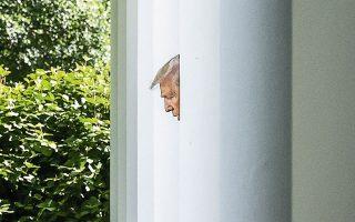 Το τσουλούφι του προέδρου Τραμπ είναι ολόιδιο στο σχήμα και στο χρώμα με το τσουλούφι του Ντένις του τρομερού. Ευτυχής σύμπτωση, αλήθεια, διότι ο ένοικος του Λευκού Οίκου δεν είναι παρά ένα γερασμένο καρτούν...