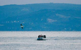 Οι 36 μετανάστες από το Αφγανιστάν και χώρες της Αφρικής αποβιβάστηκαν, το βράδυ της Κυριακής, στην παραλία «Τσόνια» στη βορειοανατολική Λέσβο.