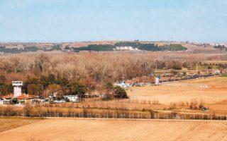 Τη «μεταφορά» της κοίτης του ποταμού Εβρου εκμεταλλεύεται η Τουρκία προκειμένου να διεκδικήσει μια περιοχή η οποία φθάνει περίπου τα 16 στρ. γης.