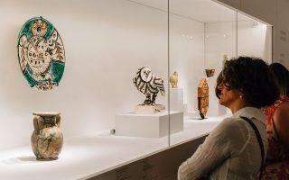 H έκθεση «Πικάσο και αρχαιότητα. Γραμμή και πηλός» είναι υποψήφια για το διεθνές βραβείο του Global Fine Art Awards.