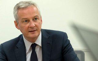 Ο Γάλλος υπουργός Οικονομικών ανέδειξε τον τουρισμό ως έναν από τους κλάδους που πρέπει να λάβουν γενναιόδωρη στήριξη.