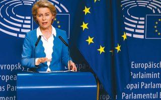 Η πρόεδρος της Ευρωπαϊκής Επιτροπής Ούρσουλα φον ντερ Λάιεν δήλωσε ότι η νομισματική πολιτική της Ενωσης είναι θέμα αποκλειστικής αρμοδιότητάς της, ότι το δίκαιο της Ε.Ε. υπερισχύει του εθνικού δικαίου και ότι οι αποφάσεις του ΔΕΕ είναι δεσμευτικές έναντι όλων των εθνικών δικαστηρίων.