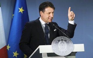Η κυβέρνηση του Τζουζέπε Κόντε μόλις ενέκρινε πρόγραμμα τόνωσης της οικονομίας 55 δισ. ευρώ, ενώ είχε προηγηθεί πακέτο 25 δισ. ευρώ τον Μάρτιο.