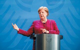 H Γερμανίδα καγκελάριος Αγκελα Μέρκελ δήλωσε ότι «τα προγράμματα επανεκκίνησης της οικονομίας πρέπει να συνυπολογίζουν την ανάγκη προστασίας του κλίματος». Η θέση της αυτή έχει προκαλέσει αντιδράσεις σε μερίδα των Xριστιανοδημοκρατών που πιέζει για χαλάρωση των σχετικών δεσμεύσεων.