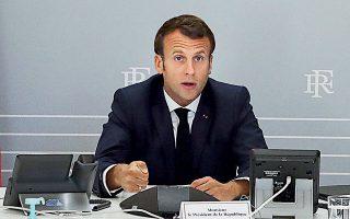 Ο Γάλλος πρόεδρος Εμανουέλ Μακρόν υποστήριξε ότι ο κορωνοϊός πρέπει να σημάνει την επικράτηση του «ανθρώπινου» επί του «οικονομικού».
