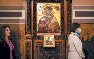 Οι δοκιμασίες εκλεπτύνουν τον ζωντανό χριστιανό. Το απέδωσε εξαιρετικά ο Οικουμενικός Πατριάρχης Βαρθολομαίος δικαιολογώντας το προσωρινό κλείσιμο των εκκλησιών: «Δεν κινδυνεύει η πίστη αλλά οι πιστοί».  (REUTERS/ALKIS KONSTANTINIDIS)