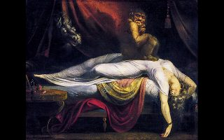 «Ο εφιάλτης» (1781) του Χένρι Φουσέλι. Ποιο όνειρο να την παίδεψε εκείνη την τελευταία νύχτα της ζωής της;