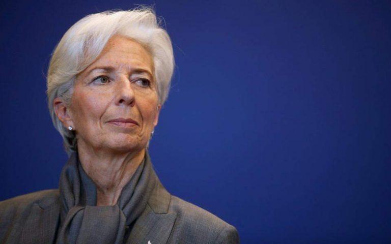 Λαγκάρντ: Συρρίκνωση της οικονομίας στην Ευρωζώνη 8% έως 12%